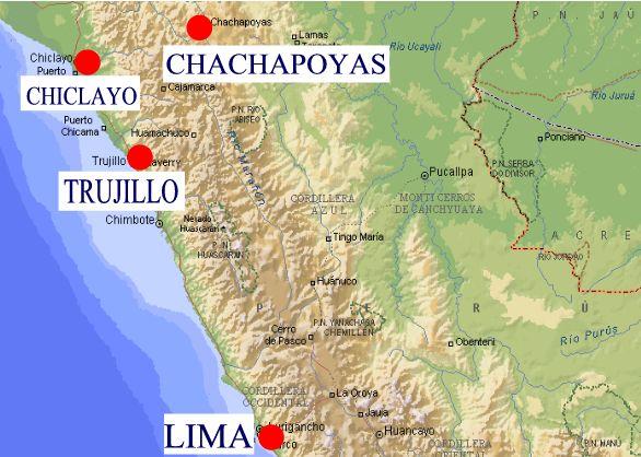Chan Chan Peru Map.Sipan Chan Chan Tours Peru Cultural Travel Programs